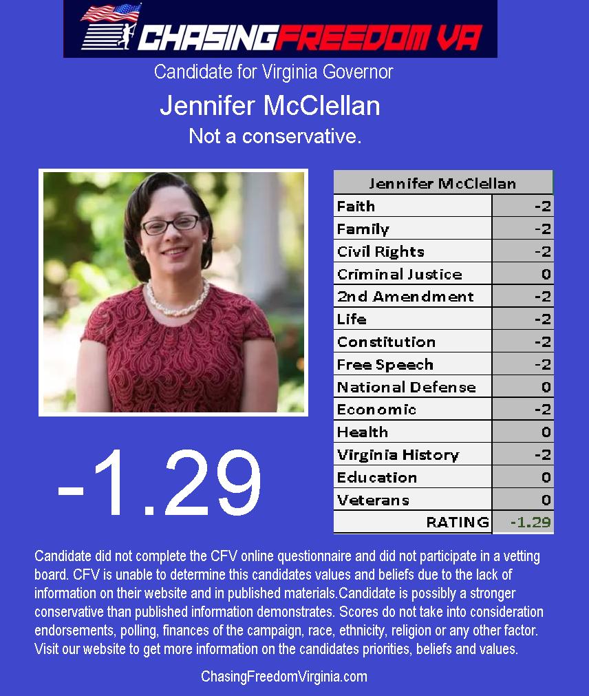 Jennifer McClellan (D)