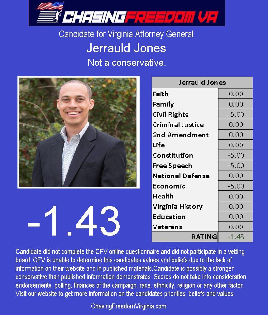 Jerrauld Jones (D)