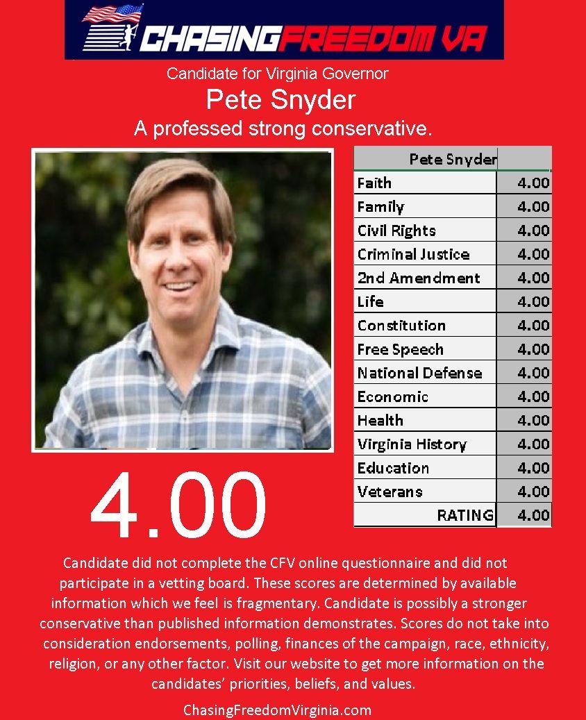 Pete Snyder (R)
