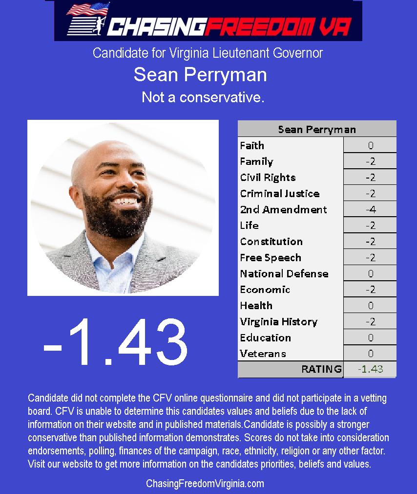 Sean Perryman (D)